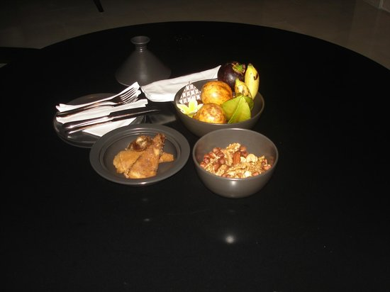 Complimentary snacks served at Villa 409 at Alila Villas Uluwatu in Bali