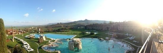 Hotel Adler Thermae Spa & Relax Resort: la vista