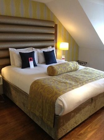 Hotel Indigo Edinburgh : comfy bed