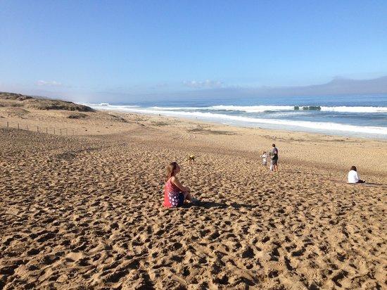 BEST WESTERN Beach Dunes Inn: пляж