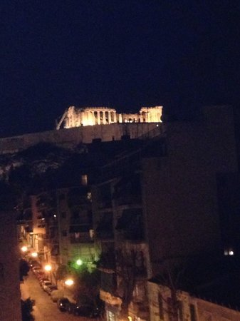 Divani Palace Acropolis: View from the balcony