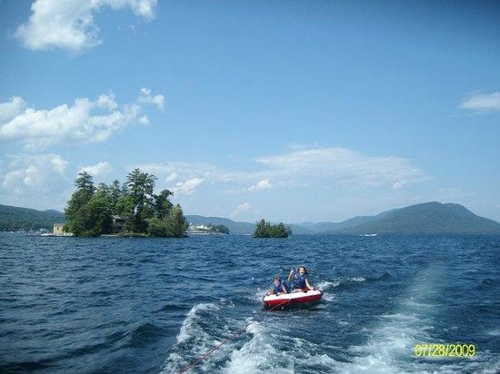The Juliana : Lake George - tubing