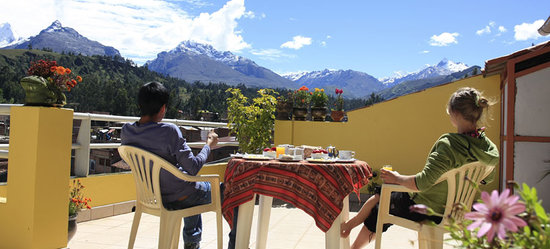 Morales Guesthouse: Breakfast with a view