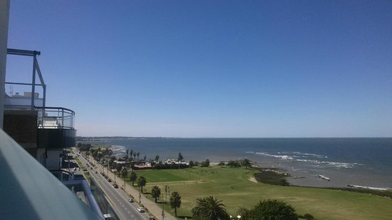 Mercure Montevideo Punta Carretas: Vista da Varanda do Quarto