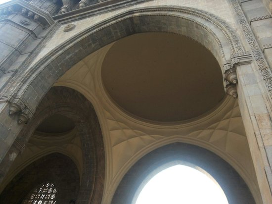 Gateway of India: Inside of the gate