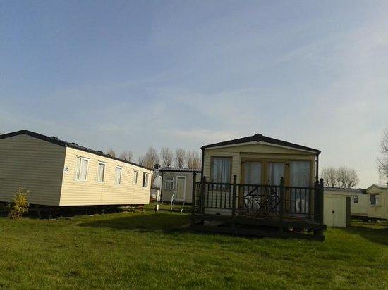 Felixstowe Beach Holiday Park - Park Holidays UK: caravans