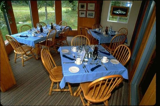 Front of Glacier Bay Country Inn Restaurant