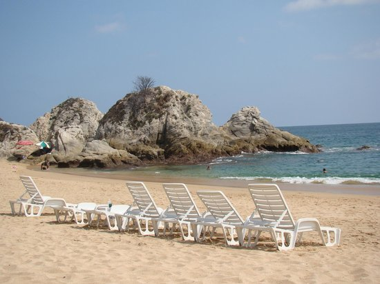 Dreams Huatulco Resort & Spa : da beach