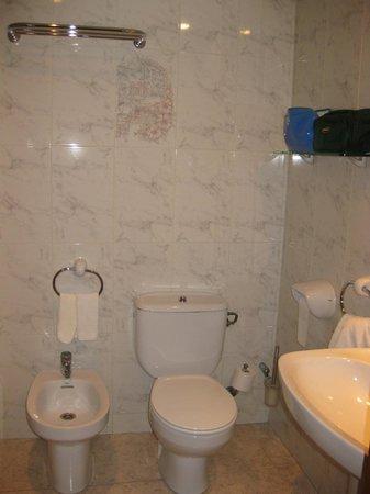 Hotel Lo Paller: Baño