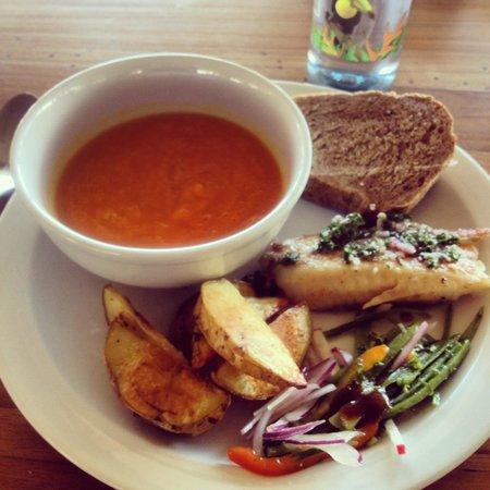 Pura Vida Retreat & Spa : Food was excellent!
