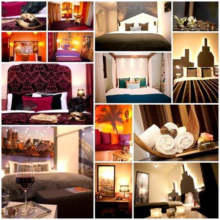 Hotel TraumRaum: Unsere vielfältigen Zimmer