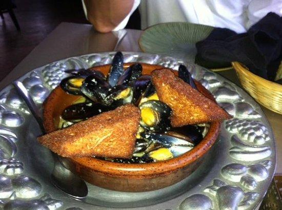 Byzantium: Mussels Appetizzer