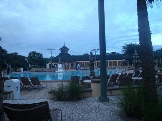 Disney's Vero Beach Resort : far side of pool area