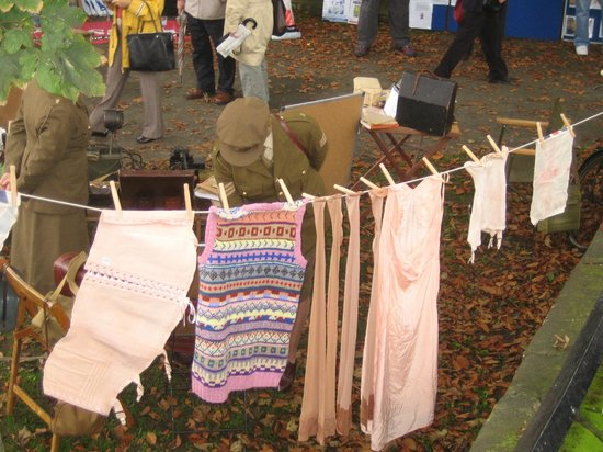 Beck Isle Museum: Washday at war weekend