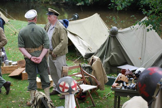 Beck Isle Museum: Which tent is mine?