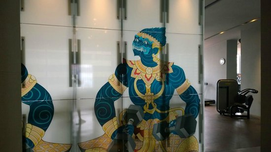 W Bangkok: Gym