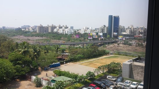 The Westin Pune Koregaon Park: view from my hotel