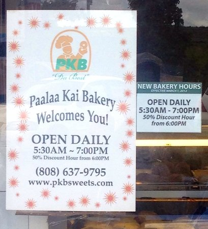 Paalaa Kai Bakery: 50% discount during the last hour of business!