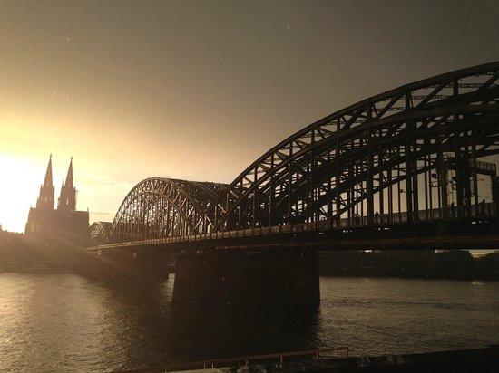 Hyatt Regency Köln: View from the hotel
