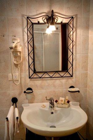 Hotel Boccascena : Immagine tipica dei bagno