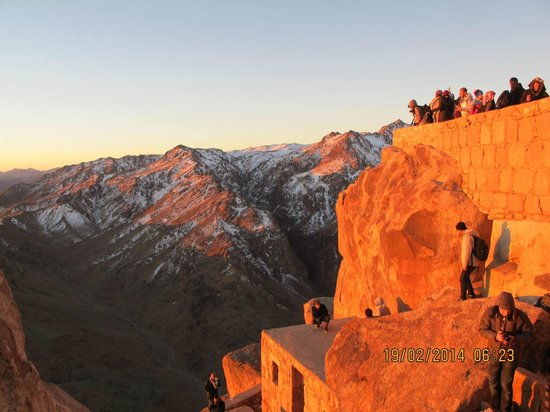 Mount Sinai: This is the colour