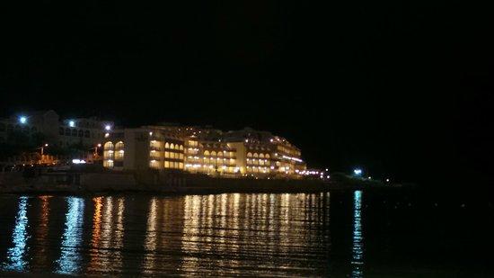 Radisson Blu Resort, Malta St Julian's : From the Beach