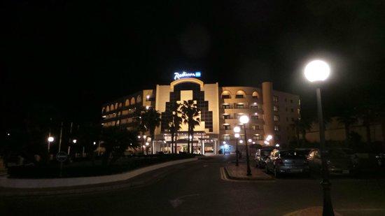 Radisson Blu Resort, Malta St Julian's : External Hotel