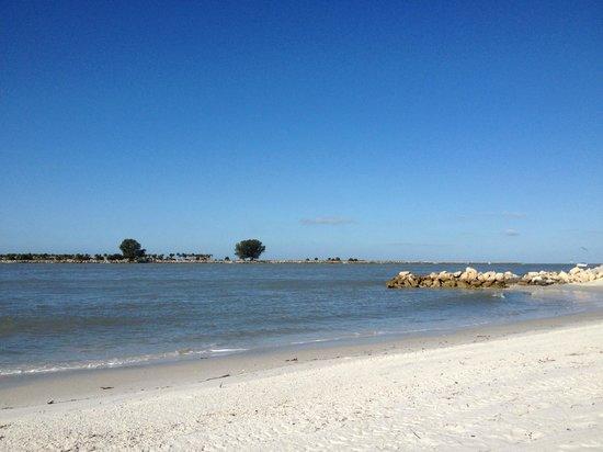 DreamView Beachfront Hotel & Resort: view from the beach