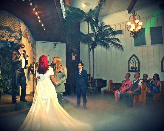 Our Wedding At The Viva Las Vegas Chapel