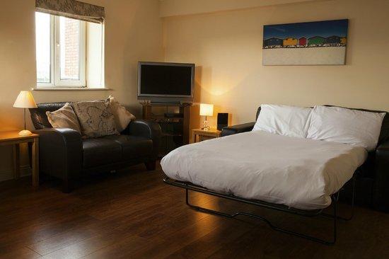 Drury Court Hotel: 1 Bedroom Apartment (Sofa Bed)