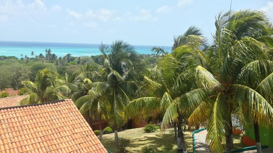 Sol Caribe Campo: vista desde la terraza de eventos