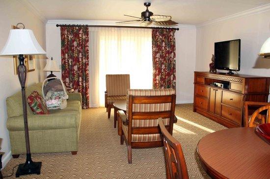 Sheraton Vistana Resort Villas- Lake Buena Vista: Wohnzimmer