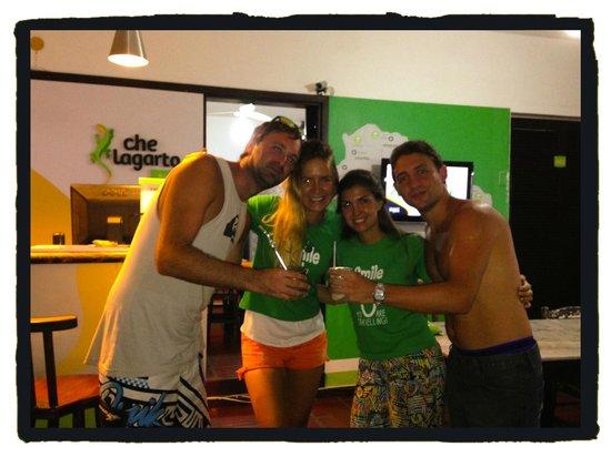 Che Lagarto Hostel Buzios : Última noche... :)