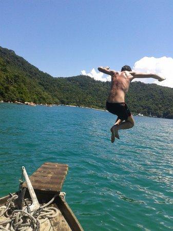 Favela Chic Hostel: boat trip