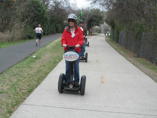 Dallas Segway Tours : On the trail