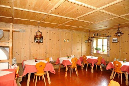 Gasthof zu Tschötsch: Dining room
