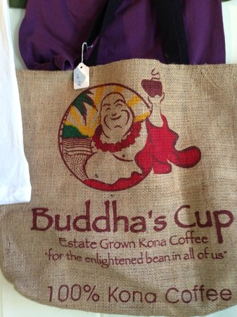 Cool beach bag for sale. - Picture of Green Flash Coffee, Kailua ...