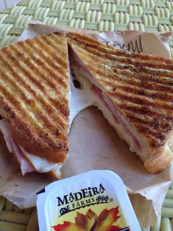 Green Flash Coffee : Monte Cristo sandwich
