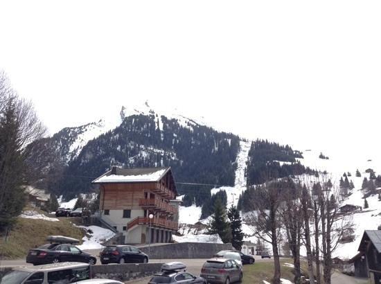 La Clusaz Ski Resort: View from Hotel Le Gotty