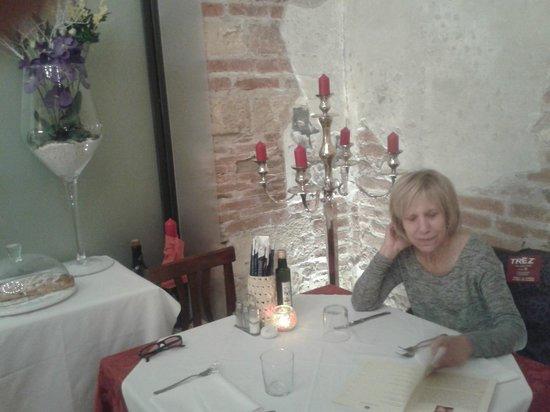 Santa Felicita: La tavola
