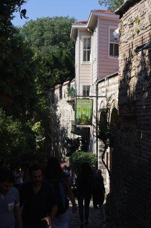 Stadtviertel Sultanahmet: Street of the Fountain - Sultanahmet