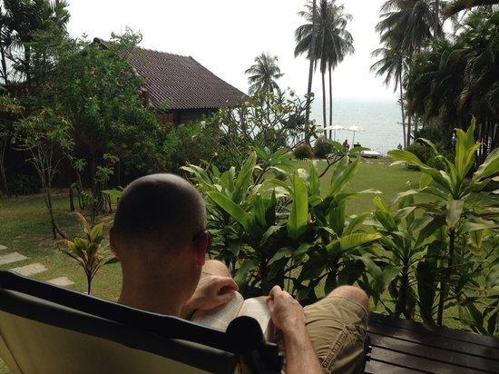 Shantaa Koh Kood : Deck view in Shantaa