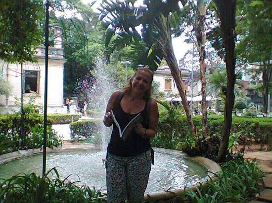 Casa das Rosas - Espaco Haroldo de Campos de Poesia e Literatura: Jardim
