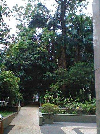 Casa das Rosas - Espaco Haroldo de Campos de Poesia e Literatura: Área do parque