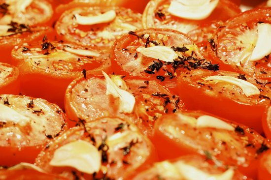 The Wine Barrel Steakhouse Ltd: Our World-renowned Tomatoes