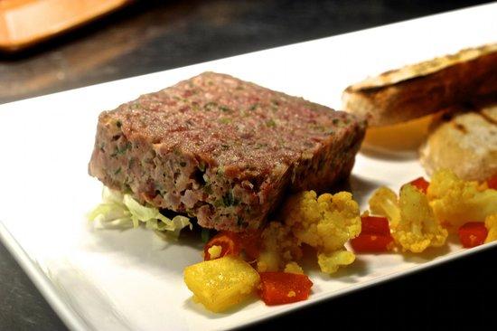 The Wine Barrel Steakhouse Ltd: Ham Hock Terrine Starter