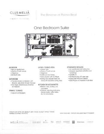 The Reserve at Paradisus Palma Real: Room PDF (Layouts, with descriptors)