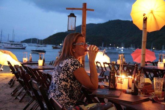 Restaurante Pé na Areia: Ambiente delicioso