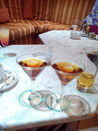 Amir Palace: try the manhattans