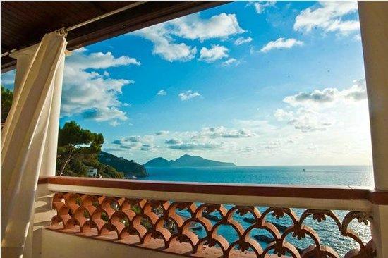 La Rosa dei Venti: Terrazza vista Capri